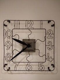 Newgate Wire Wall Clock