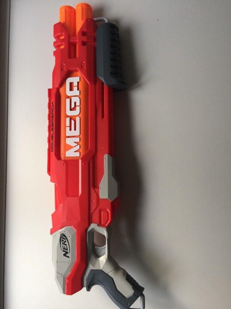 Nerf Gun: Mega Double Breach