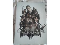 Gotham Rise of the Villains Damned If You Do Poster TV Series Cast A2 A3 A4