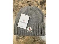 c75a1d8100a Moncler Beanie Hat - Grey
