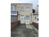3 bed flat/house plus an office, with off road parking on outskirts of Redcar.