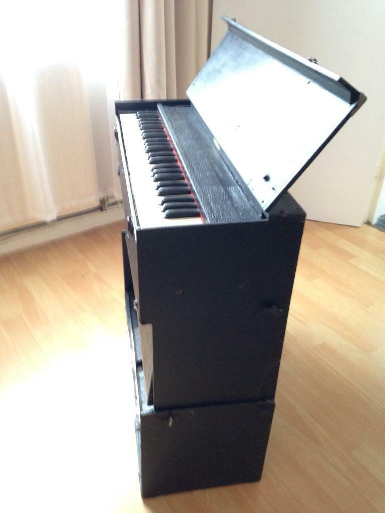 Portable Foot Pumped Reed Organ Harmonium