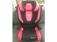 Recaro Monza Nova Child's Car Seat - Used, but clean and in very good condition