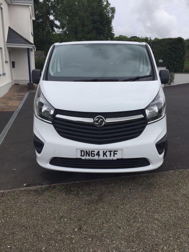 Recently converted Vauxhall Vivaro camper van