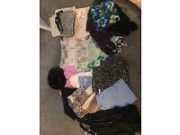 Bundle of women's clothes etc