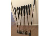 Golf Clubs - Maxfli irons - Benross wood - Top Flight bag - very good condition
