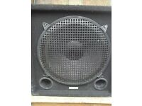 """15"""" Bass Cab - Twin Ports / Protective Grille"""