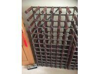 2 proffesinally made wine racks for sale