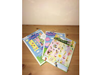 Peppa Pig & Tinkerbell art bundle, contains stickers and paint
