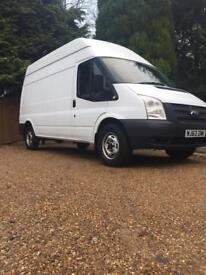 2013-63 FORD TRANSIT 125 T350 RWD LWB (ONE OWNER) (FULL SERVICE HISTORY)