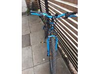 """Childrens btwin rockrider 500 24"""" mountain bike"""