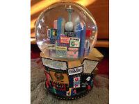 Wonderful Magical 2001 Broadway snow globe plays 'let it snow'