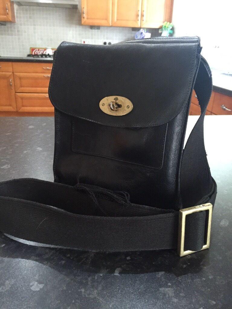 78bd1bf9cb ... sale genuine mulberry antony messenger bag black adfc8 e32fe