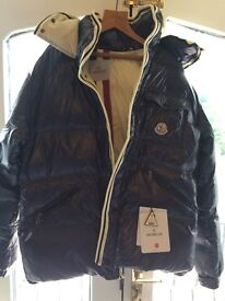 MONCLEAR FEATHER DOWN JACKET BRAND NEW WITH HOOD