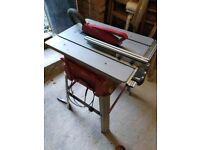Table saw & Mitre saw(Machine Mart) saw stand and some furnitures
