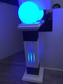 LED STAND WITH TABLE LAMP. MORE IN STOCK !!