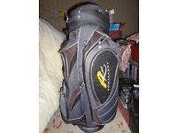 Powerkaddy golf trolley bag