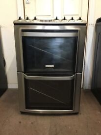 Electrolux electric cooker 60cm stainless steel double oven 3 months warranty free local delivery!!!