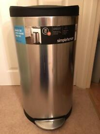 Brabantia Stainless Steel 30 litre Kitchen Bin
