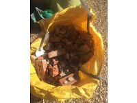 Hardcore - a dumpy bag of bricks and mortar.