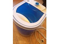 Mini Portable Electric Washing Machine Caravan 2kg (reduced from 30 to 20)