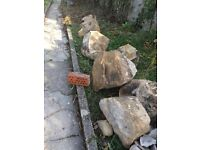 Granite pieces - various sizes - Free to anyone clearing the lot.