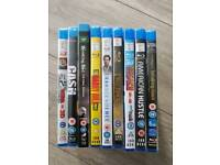 Blueray + dvds all brand new
