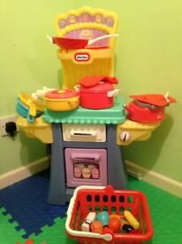 Little tikes Kitchen with extras