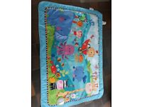 Fisher price large play mat with toys attached