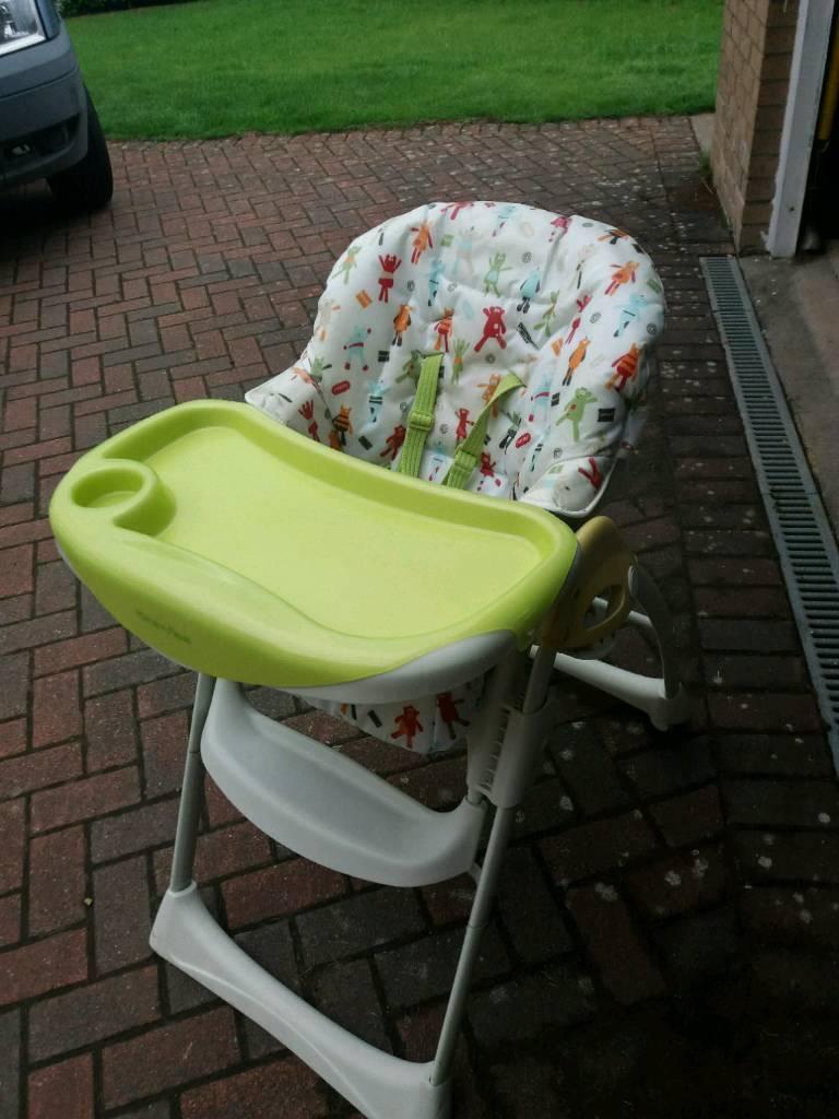 Baby/toddler high chair mamas & papas