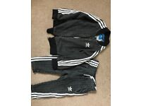 Adidas tracksuit size 18-24 months boys