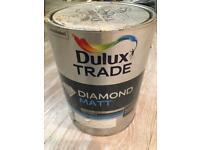 Dulux Trade 5l tins - khaki mists 5 - can find colour at dulux website