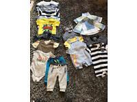 Bundle baby boy clothes 3-6 months