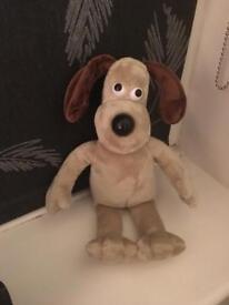 Gromit cuddly toy