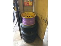 "17"" Land Rover modular banded steels"