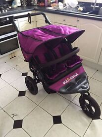 Out and About Nipper V4 double buggy