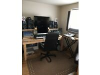 Recording studio/music tuition space for hire South West England