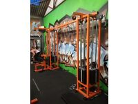 Cable crossover 6 station commercial gym equipment