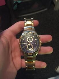 Men's accurist watch.