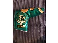 Scotty Cameron 'Cash is King' headcover