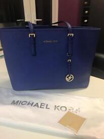 Genuine Micheal Kors Jetset Tote bag - Blue