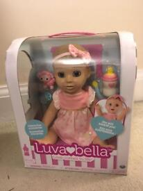 Brand new luvabella blonde doll
