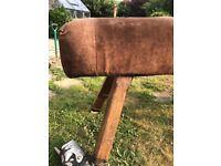 Leather Vintage pommel horse
