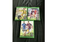 Fifa Bundle (15/16/17) Xbox one