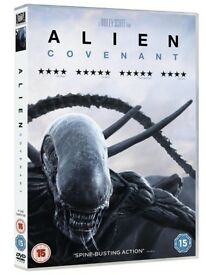 Alien Covenant DVD 2017 Brand New & Factory Sealed - A Ridley Scott Film