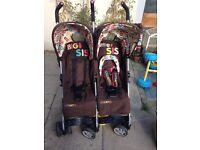 Cosatto Twin Stroller