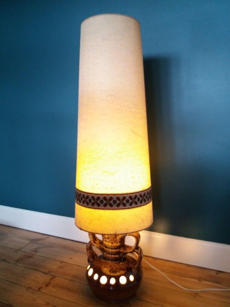 West German Floor Lamp with Original Shade | in Norwich, Norfolk ...
