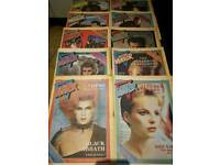 32 x RECORD MIRROR MUSIC MAGAZINES 1982