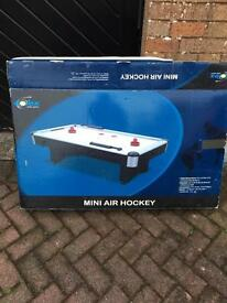 Air hockey table from John Lewis
