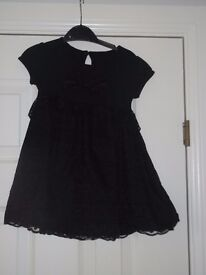 black dress 9-12m collect or deliver Stonehaven only, no postage